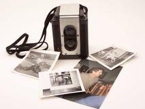 Memorie della macchina fotografica dell'annata Immagini Stock
