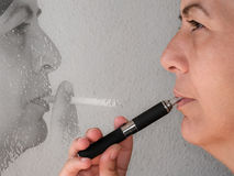 Memorie di un fumatore Immagini Stock