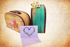 Memorie romantiche di amore di memoria del viaggio immagine stock libera da diritti