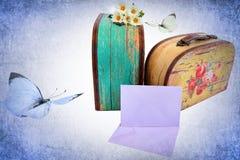 Memorie romantiche di amore di memoria del viaggio fotografie stock libere da diritti