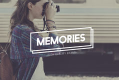 Memories Data Information Mind Remember Concept Stock Images