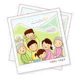 Memories of family photos Stock Photo