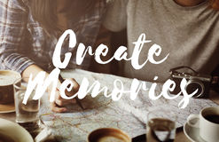 Memories Moments Be Yourself Concept Royalty Free Stock Images