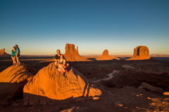 Memories of Monuent Valley Stock Image