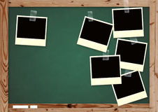 Memories on school. Horizontal background royalty free stock photography
