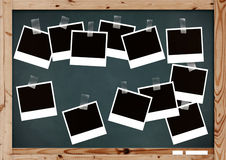 Memories on school. Horizontal background royalty free stock images
