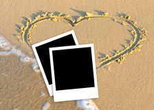 Memories about tropical holidays Royalty Free Stock Photos