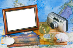 Memories from vacation Royalty Free Stock Photography