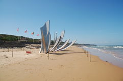 Memories of World War 2. In Normandy France Stock Image