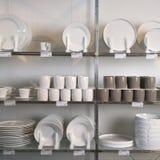 Memorizzi la visualizzazione dei piatti. Immagini Stock Libere da Diritti