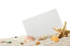 Memory of Beach Royalty Free Stock Photos
