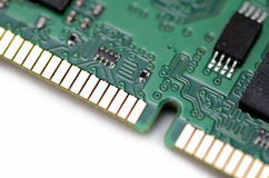 Memory Board of Personal Computer Royalty Free Stock Image