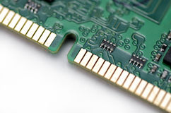 Memory Board of Personal Computer Royalty Free Stock Photos