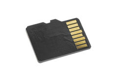 Memory card Royalty Free Stock Image