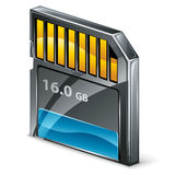 Memory card Stock Images