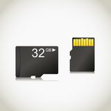 Memory card Stock Photo