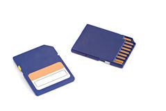 Memory card Stock Image