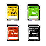 Memory card Royalty Free Stock Images