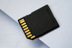Memory card for digital camera Royalty Free Stock Photo