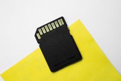 Memory card for digital camera Stock Photo