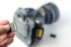 Memory card - Flash card Royalty Free Stock Photo