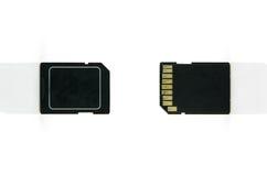 Memory card micro sd Royalty Free Stock Photography