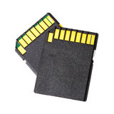 Memory card (or SD-Cards). Royalty Free Stock Photography
