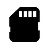 memory card sd isolated icon design Stock Photo
