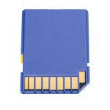 Memory card. Secure digital memory flash card Royalty Free Stock Image