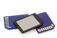 Memory Cards Stock Photo