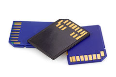 Memory cards Stock Photos