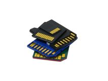 Memory cards Stock Images