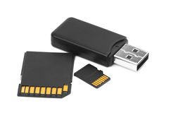 Memory cards Royalty Free Stock Image