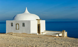 Memory Chapel, Cape Espichel, Portugal Stock Images