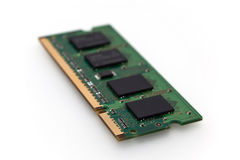 Memory chip isolated Stock Photo