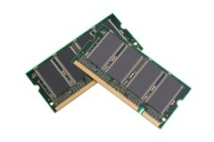 Memory Chips Stock Photos