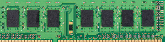 Memory circuit board and chipset for computer Stock Images