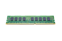 Memory. Computer Memory Chip DDR Type Stock Images