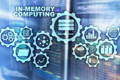 In-Memory Computing. Technology Calculations Concept. High-Performance Analytic Appliance. In-Memory Computing. Technology Calculations Concept. High stock images