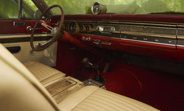 Memory Cruise - 1965 Mercury Comet Cyclone Interior Stock Images