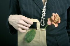 Memory about dear gift royalty free stock photography