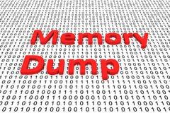 Memory Dump Stock Photo