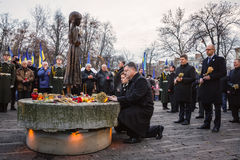 In memory of the famine-genocide of 1932-1933 in Ukraine Royalty Free Stock Image