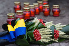 In memory of the famine-genocide of 1932-1933 in Ukraine Royalty Free Stock Photos