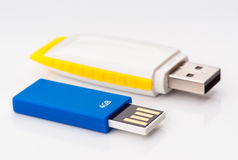 Memory flash drives  Stock Photo