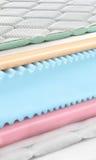 Memory foam - latex mattress cross section - hi quality Stock Photography