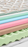 Memory foam - latex mattress cross section - hi quality Stock Image