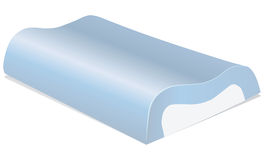 Memory Foam Pillow Stock Image