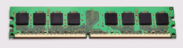 Memory module. Stock Photos