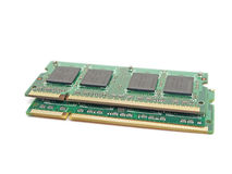 Memory Modules Royalty Free Stock Photography
